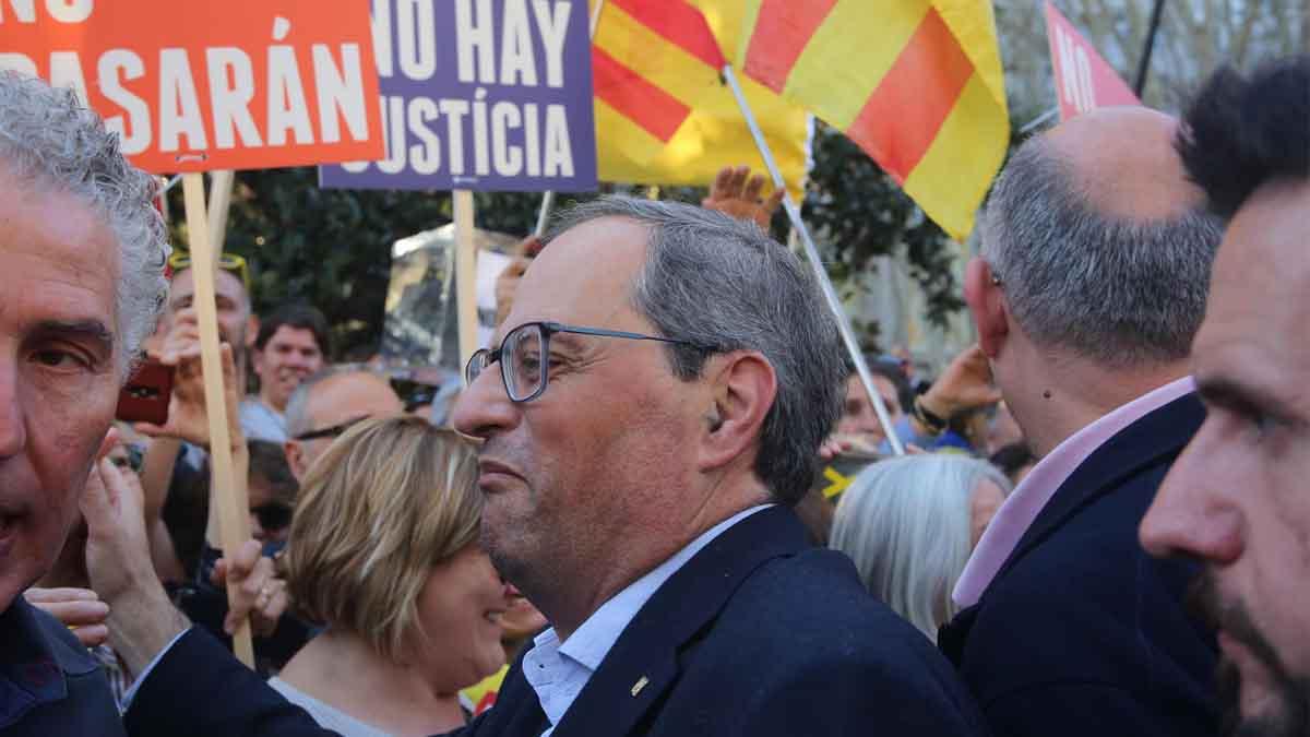 El presidente de la Generalitat, Quim Torra (Foto: Europa Press).