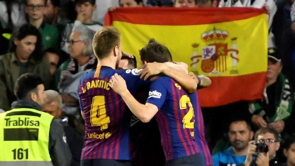 Liga Santander: Betis – Barcelona   Partido de hoy de La Liga, en directo
