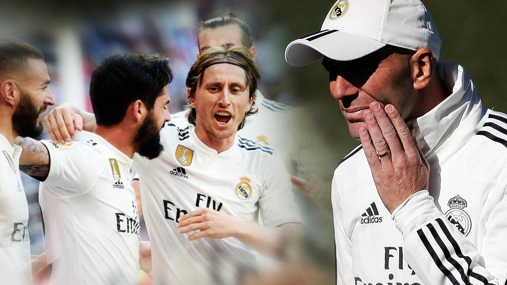 Zidane ha reconquistado la confianza del vestuario del Real Madrid.