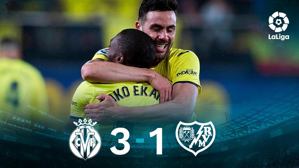 El Villarreal gana al Rayo. (EFE)