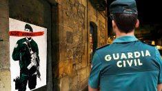 Una pintada contra la Guardia Civil en Alsasua. (Foto: EFE/OKDIARIO)