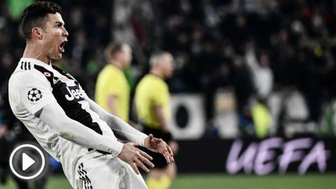 Cristiano, expedientado por la UEFA. (AFP)