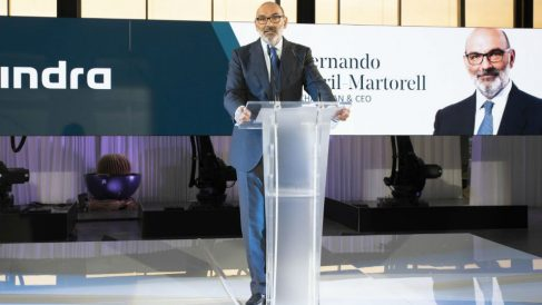 Fernando Abril Martorell, presidente de Indra