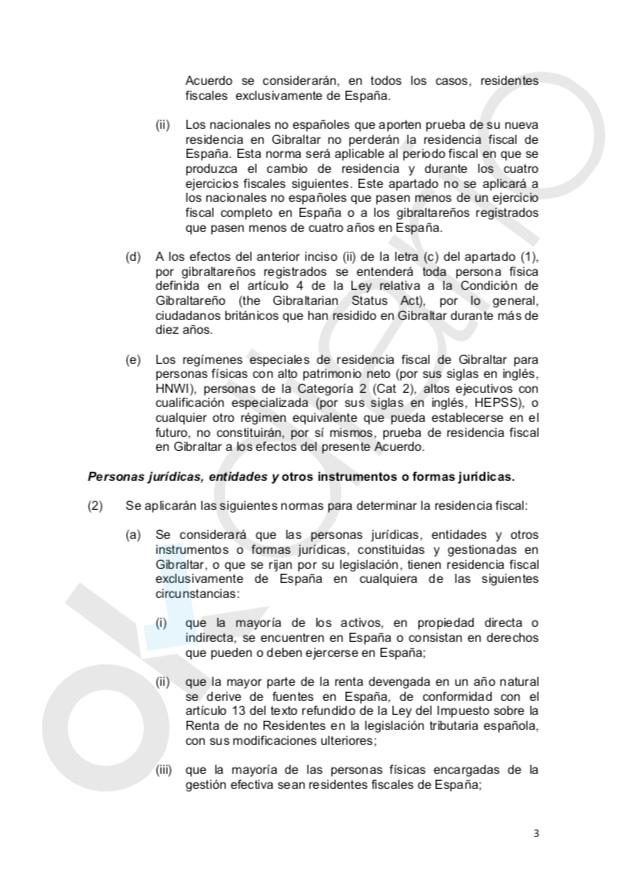 Sánchez amnistía a las sociedades offshore de españoles en Gibraltar en uno de sus últimos actos de Gobierno