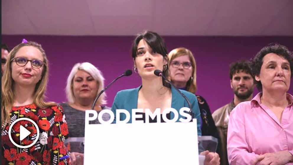 Isabel Serra tras conocer los resultados de las primarias. (Foto. Madrid)