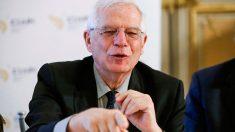 El ministro de Asuntos Exteriores, Josep Borrell, durante el Consejo Empresarial Alianza por Iberoamérica en Casa de América de Madrid. Foto: EFE