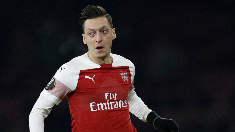Mesut Özil (AFP)
