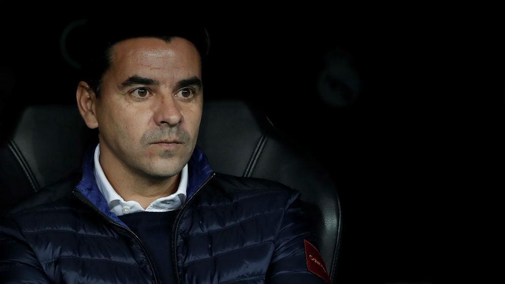Michel, durante un partido como entrenador del Rayo Vallecano. (Getty)