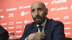 Monchi en su presentación don el Sevilla (@SevillaFC)