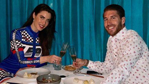 Sergio Ramos y Pilar Rubio celebran el cumpleaños de esta.