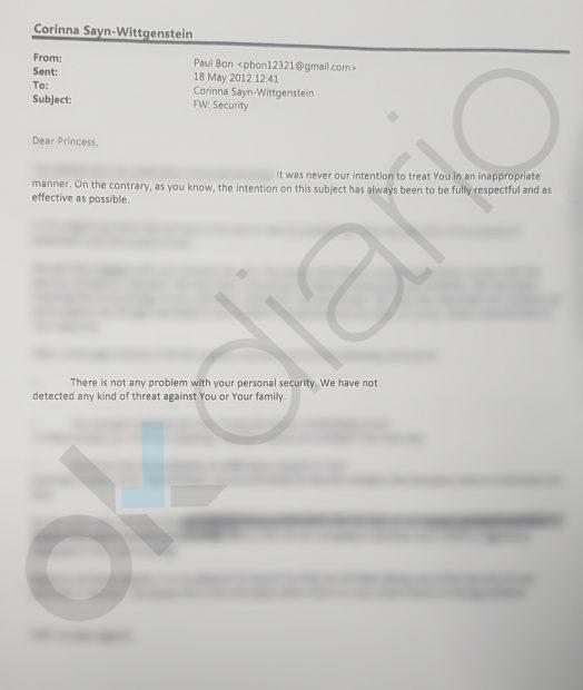 El jefe del CNI usó fondos reservados para amenazar a Corinna y 'limpiar' su casa