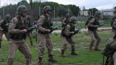 Militares españoles.