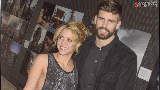 Shakira deja plantado a Gerard Piqué en una fiesta en Barcelona