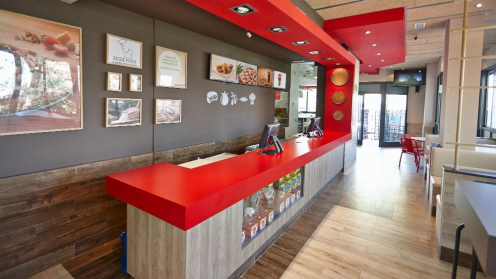 Tienda de Telepizza (Foto: Telepizza)