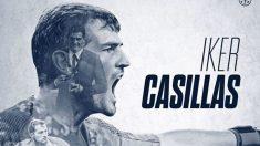Iker Casillas ha extendido su vinculación con el Oporto hasta el 2021.