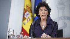 Isabel Celaá. Foto: Europa Press