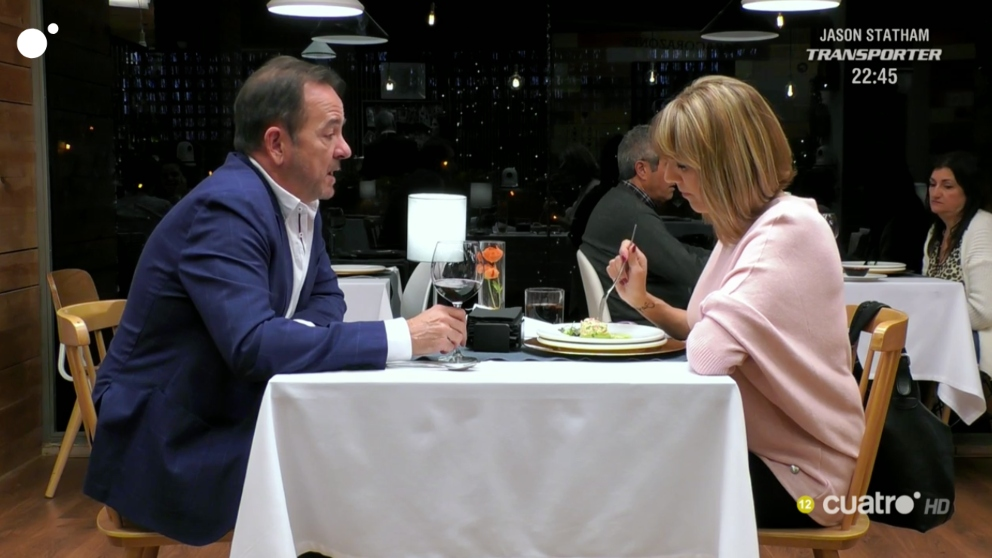 Constan y su profesión, han sorprendido en 'First Dates'