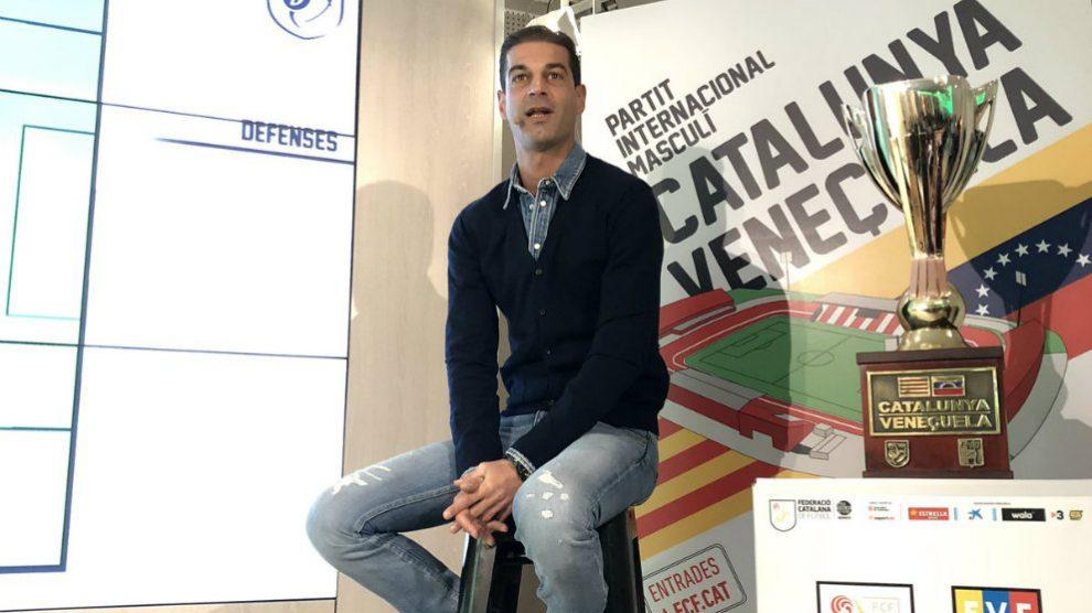 Gerard López, seleccionador catalán (@FCF_CAT)