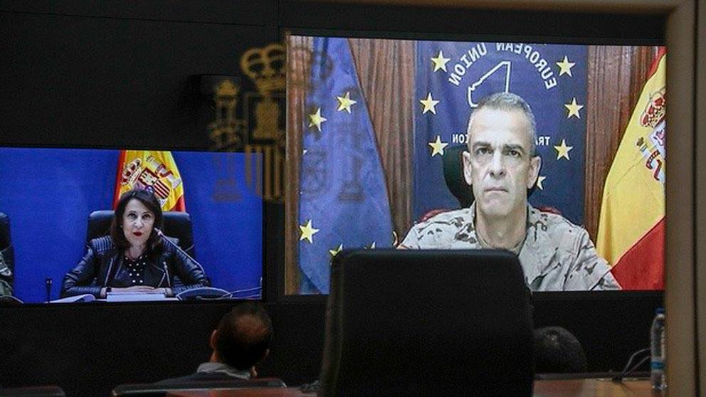 Margarita Robles, ministra de Defensa. Foto: Europa Press