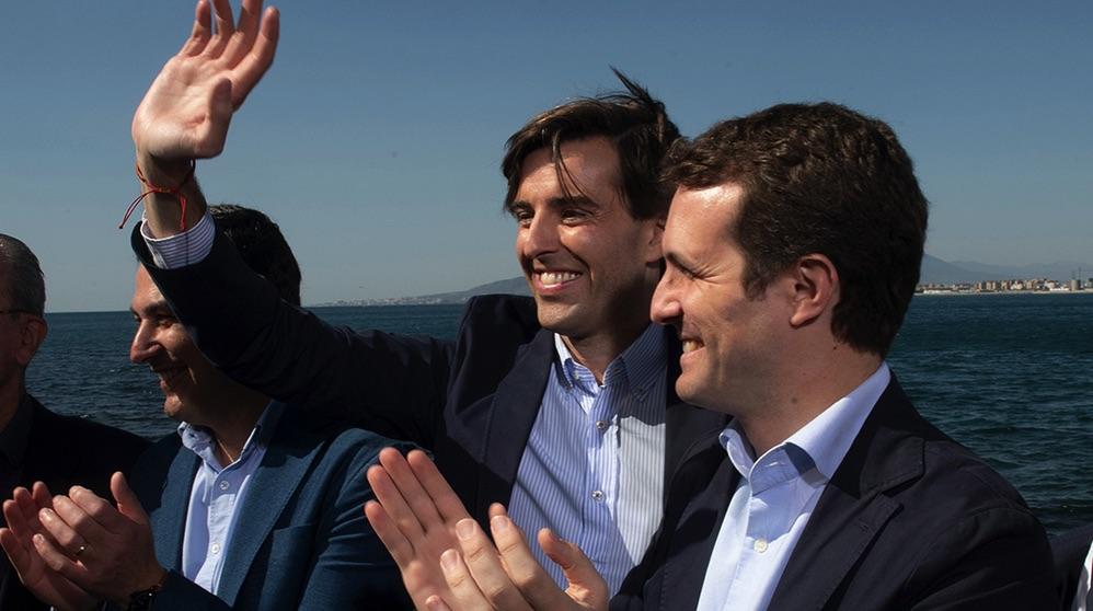Pablo Montesinos y Pablo Casado. (Foto. PP)
