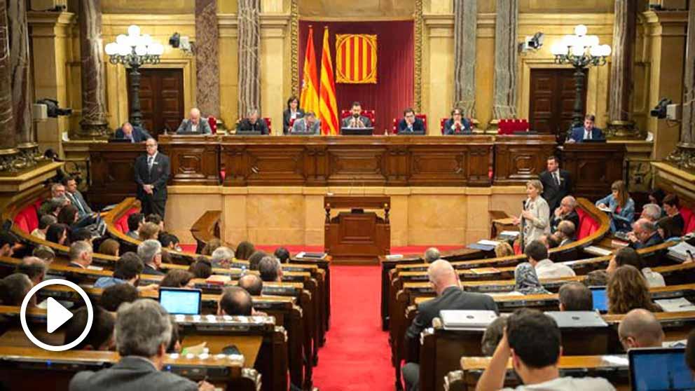 Pleno en el Parlament de Cataluña. Foto: Europa Press