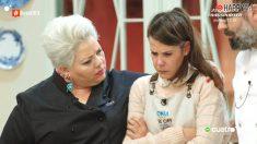 Sonia y los jueces de 'Bake Off'
