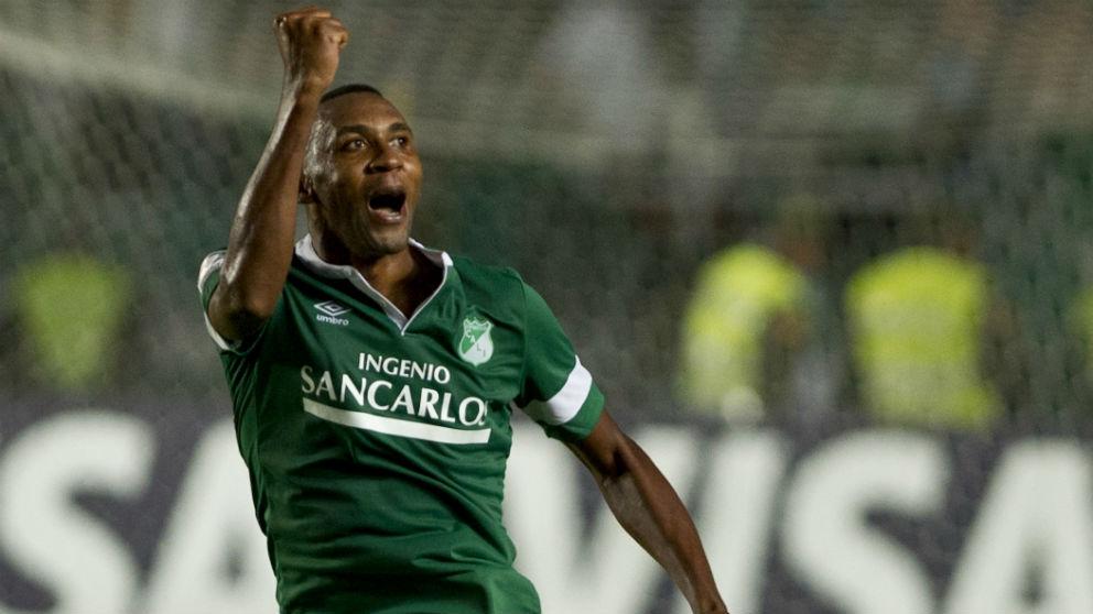 Viáfara, en su etapa en el Deportivo de Cali. (Getty)