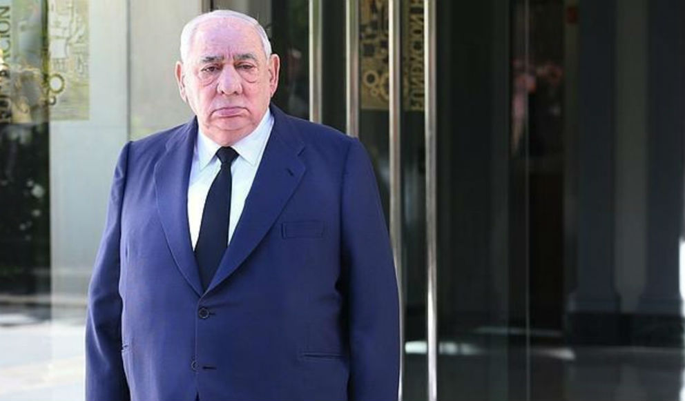 El fallecido Isidoro Álvarez, histórico presidente de El Corte Inglés