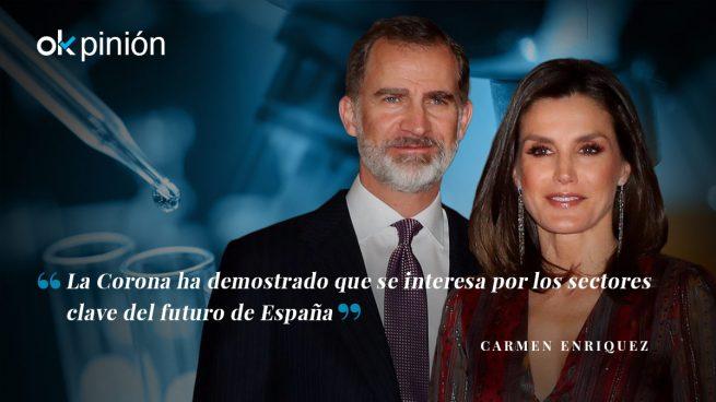 Los Reyes quieren estar al día de los que hacen los científicos españoles