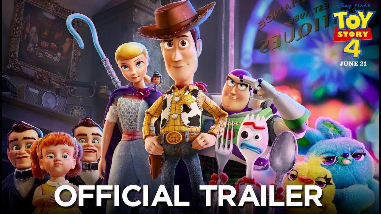 Toy Story 4 tráiler oficial