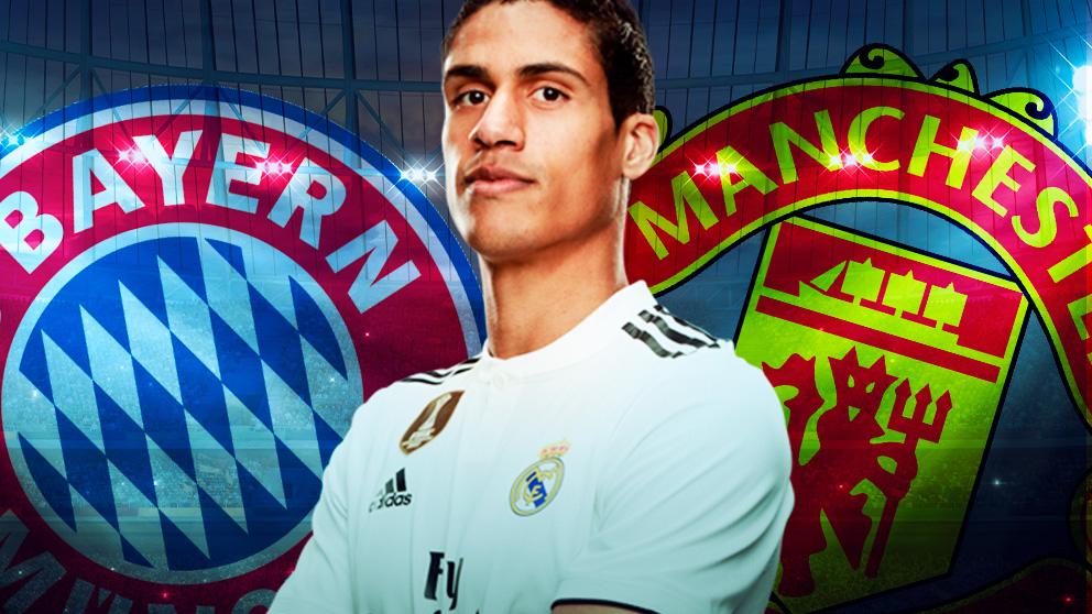 Bayern y United también quieren a Varane.