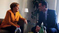 Angela Merkel y Pedro Sánchez. (Foto. Moncloa)
