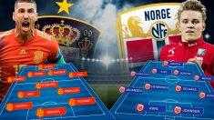 España se enfrenta a Noruega en el primer partido de la fase de clasificación de la Eurocopa 2020.
