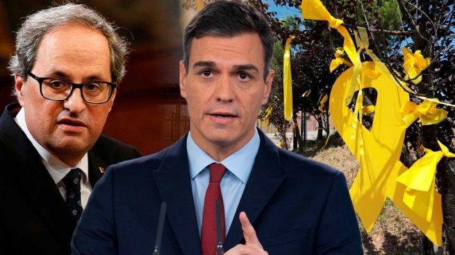 Sánchez no actuó durante meses contra los lazos amarillos porque los consideraba «libertad de expresión»