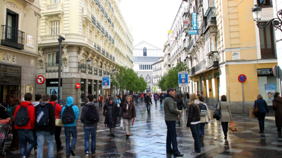Calle Arenal de Madrid (Foto: iStock)