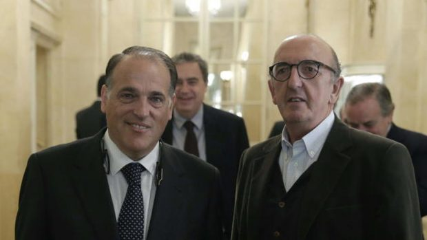 The blackmail of Tebas and Roures to the bars:
