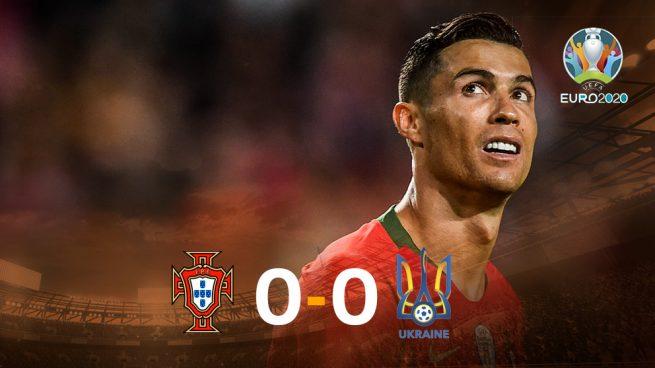 Cristiano no puede con Ucrania en su regreso (0-0)