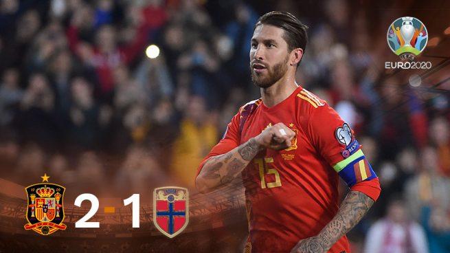 Una victoria… 'a lo Ramos'