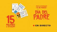 Sigue en directo el Sorteo Extraordinario del Día del Padre 2019 de Lotería Nacional