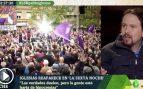 """Iglesias vuelve llamando """"periodista de cloaca"""" a Eduardo Inda y sugiriendo que lo echen de La Sexta Noche"""