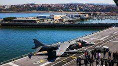 Portaaviones de la Armada Española Juan Carlos I. (Foto: Europa Press)
