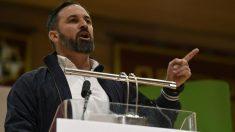 El presidente de VOX, Santiago Abascal. (Foto: Europa Press)