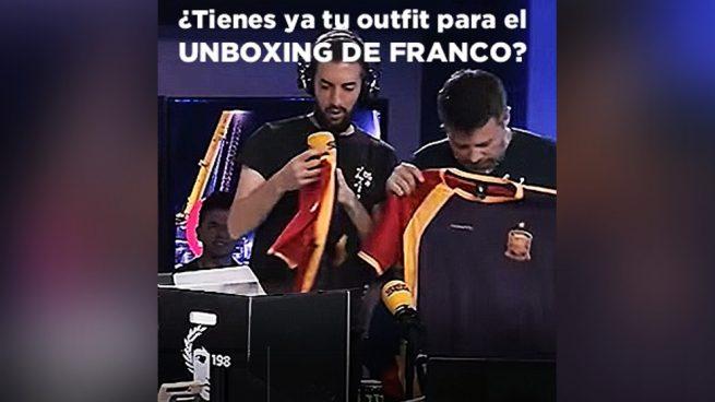 La tienda del secretario de Comunicación de Podemos hace caja con la exhumación de Franco