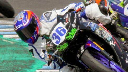 Fallece con 14 años el piloto gaditano Marcos Garrido Beltrán.