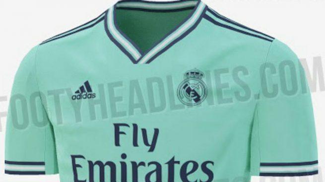 5eb1e5e92d6a8 El Real Madrid vestirá con una camiseta verde la próxima temporada