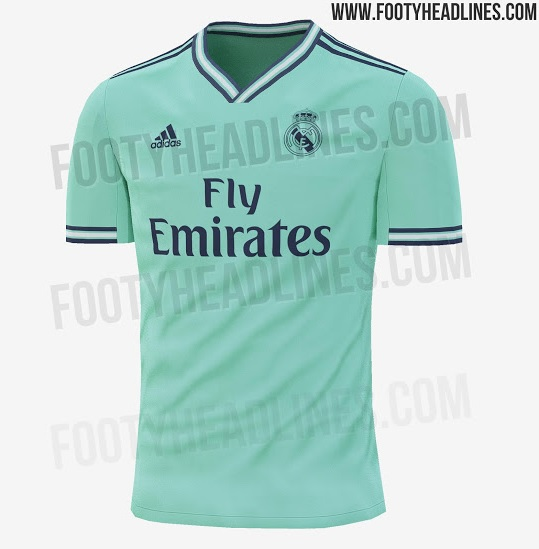El Real Madrid vestirá de verde la próxima temporada