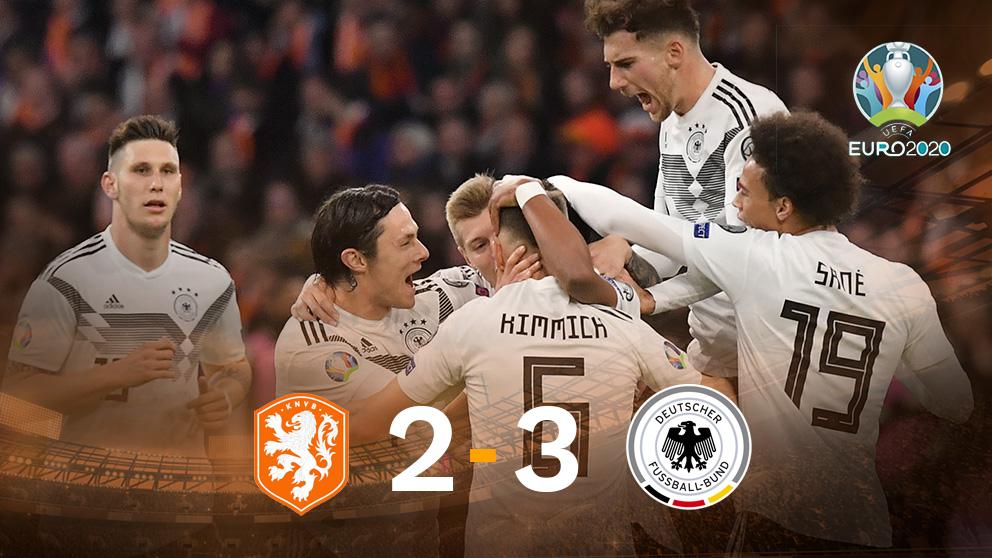 Alemania gana a Holanda. (AFP)