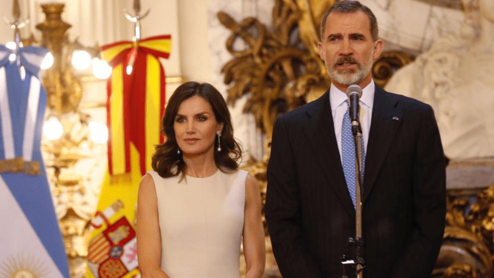Reyes de España en Argentina. Foto: Redes Sociales de la Casa Real.