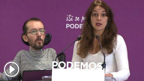 Echenique y Vera en rueda de prensa