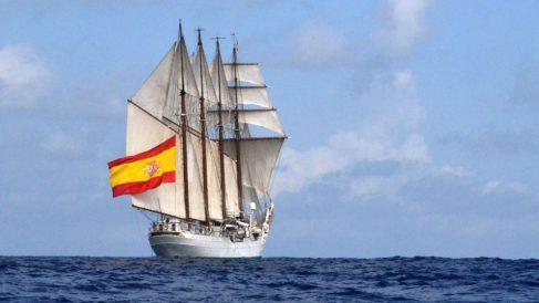 Buque de la Armada española Juan Sebastián Elcano.